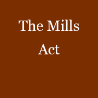 The Mills Act